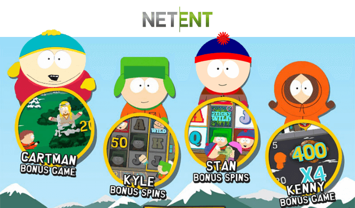 South Park online pokies